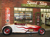 Petersen Automotive Museum - stylové muzeum aut v Los Angeles