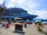 Ocean Cay – soukromý ostrov pro výletní  plavby MSC CRUISES