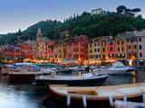 Portofino – město, kde se schází celebrity